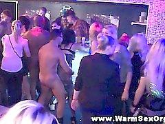 Real amateur sluts dancing before sex