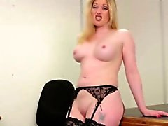No small dicks for this stripping milf