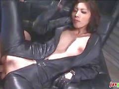 Asian whore gets nailed outdoors and doggy style