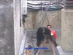 Uomo valoroso riceve ragazza di cazzo in cantiere / 100dates