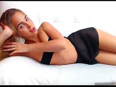Cute Blonde Teen Solo Orgasm