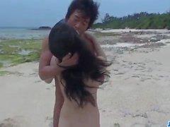 Kyouko Maki, big tits Asian hottie, enjoys