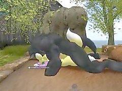 Werewolf attack renamon 3