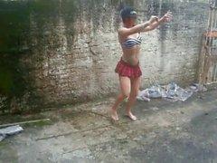 Sexy dansant maigre