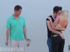 Kissing Prank - FAMILY EDITION