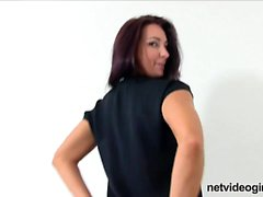 Exotic mom at calendar audition Micha from onmilfcom