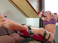 Tickling-Submission - Tickler gets Jasmina's bare feet (2012) Jasmina