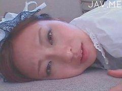 Japanese maid pounded