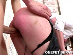 Husband Dominating His Slutty Wife
