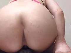 Dirty feet squirting slut loves bbc dildos