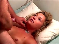 Cum swallowed with a spoon