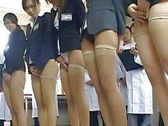 Babes In An Anal Japanese Orgy Leak Cum Anally