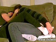 Incondicional gays de Tristan se ha aparentemente enamorado de suelas de desde que un