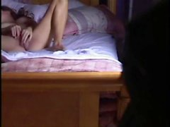 Tight chick caught masturbating on hidden cam - chat me on: luciacam