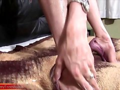 FULL movie of Big boobed shedoll pulling out her monstercock