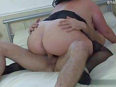 Young girlfriend sucking