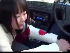 Cute car sex