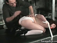 Vivian is hot MILF who ends tied part1