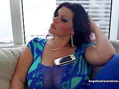 suuret titted Angelinan Castro epätoivoisia spanish hana !
