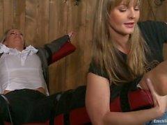 Czech foot tickling - Tickled feet by Annie