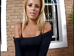 oiled sexy brazillian latina fucks