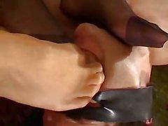 Two Italian Mistress Foot Worship