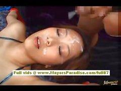 Miho Maeshima Китайская девушка связана и получения дразнить своими ребята