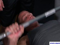 Assfucked athlete likes it rough