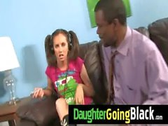 Just watching my daughter fucking a black dong 14
