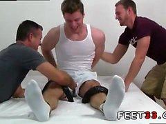 Gay pie del equipo de fútbol de esclavos Tamaño de León 13 Pies y Tickle Cuerpo