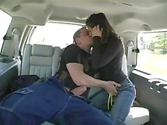 Admirable Melissa Doll gets excellent slamming in friend`s car