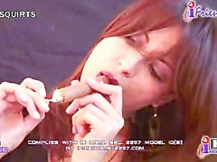 Sandi Squirts Cigar