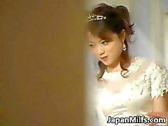 Asiatisches Braut erwischt den Ball Hardcore- Gruppen verdammte Teil2