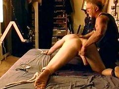 CBT virgin gets balls pounded.
