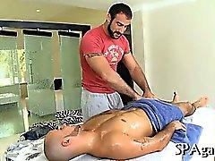 Sexy de massagem para cravo