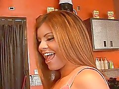 Young latina chick Vianey picked up and fucking