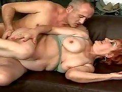 Horny mature bitch enjoys hard sex
