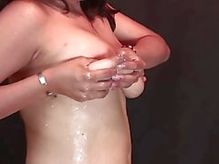 Solo Lactation with huge Milkstreams by Spyro1958