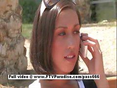 Isabela funny amateur sexy teen flashing