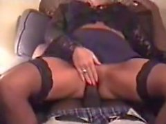 White wife DP'ed by Two BBC in the hotel