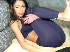 asian babe getting teased so hard
