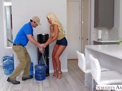 Lonely Latina Bridgette B And Delivery Guy