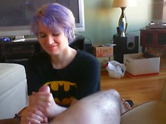Masterful Handjob only the way Batgirl can