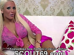 German Tattoo MILF in Privat Gangbang after Party with 5 Man