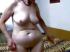OldNanny granny strip and toyfuck compilation