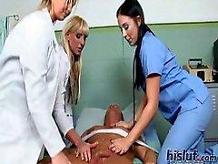 These ladies play nurses