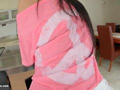 Super hot solo girl Athina masturbating on Give Me Pink