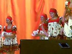 Русский народный танец . Горячие и озабоченных