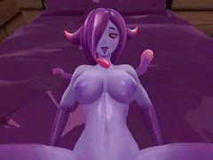 Monster Girl Island Demo - Eris The Demon Slime Scene Remake
