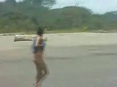 Laura Beach Nude Party Costa Rica Girl